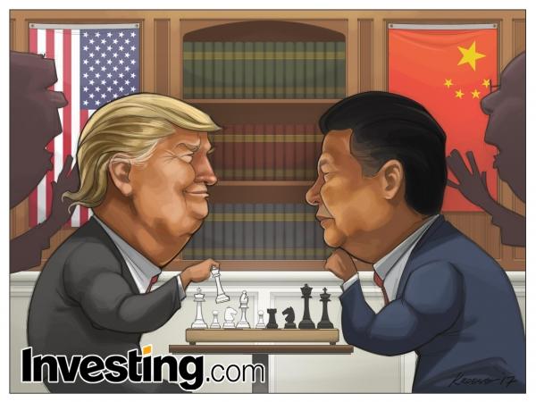 트럼프와 시진핑, 자료 : 인베스팅닷컴 = 인포스탁데일리